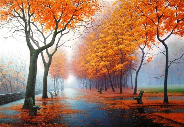 Осенние листья в тревоге вопят